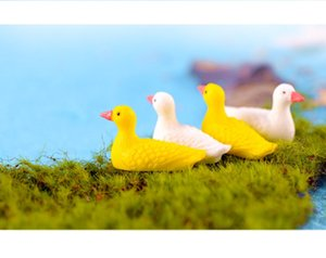mini cake toppers seagull microlandschaft capsule toys for kids