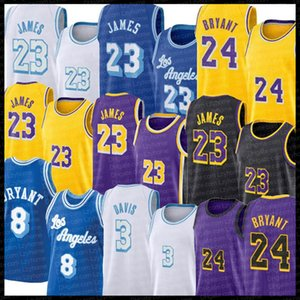 24 8 33 Bryant Basketball Jerseys Los Lebron 23 James Angeles