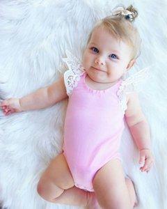 Kids Bodysuit Baby Rompers Boy Girl Clothes Jumpsuit Sunsuit Outfits Soild Children's Clothe Summer Clothing 0345