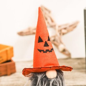 Halloween Decoration Faceless Doll Pumpkin Bat Gnome Kids Toy Gift Horror Holiday Props Table Ornaments DWD10388