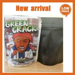 Green Crack 3.5g edible packaging bag Airheads gummmies package smell proof bags Sour Gushers edibles empty mylar baggies