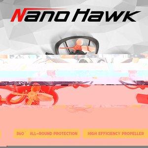 Emax Nanohawk Bnf Drone 65mm 20g 1s F4 5a Esc Runcam Nano 3 Camera Racing Fpv 5.8G 37ch 25mw Vtx Mini Drones