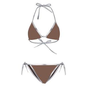 Swimwear para Mulheres Marca Banheira Terno Beachwear Verão Um pedaço Sexy Lady G carta de impressão Imprimir maiô Swimsuit Swimsuit