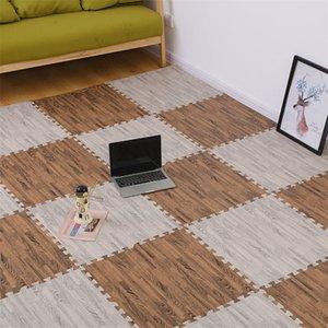 Bois Grain Puzzle Mat Baby Moam Jouer Épissements Chambre Épaissir Soft Moderne Plancher Enfants Tapis De Salon Rogling Tapis 694 S2