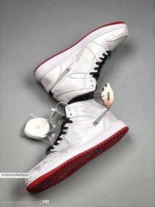 Clot Jumpmen 1 Mid Fearless 1s OG Designer Uomo Scarpe da basket 1s Satin Luxury Sneaker Trainer Top Quality