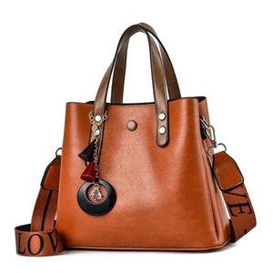 Borse a tracolla Shangxin Bucket Borse 2021 Moda Donna Trend Atmosfera selvaggia Single Messenger Bag Donne