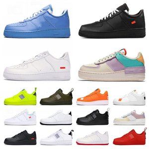 NUEVO AIR \ RDUNK 1 SHOWT ONE ONE CASUAL SHOOTS WHEOM WHITE OFF OFF MCA AirForce \ Rutility Volt Hazlo Sust MoMA Forces \ Rtrainers Sneakers