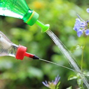 بسيطة الرش سقي الزهور النباتات النضرة زجاجة المياه صديقة للبيئة فحم الكوك دش 4 فوهة لوازم البستنة المعدات