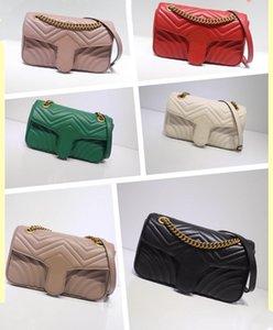 Оптом женские сумки на плечо черные красные зеленые женские сумки кошельки кошельки мессенджер цвет цепи равнины сердца