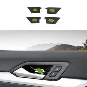 For Volkswagen Golf MK8 2020-2021 Black Titanium Interior Door Bowl Cover Trim