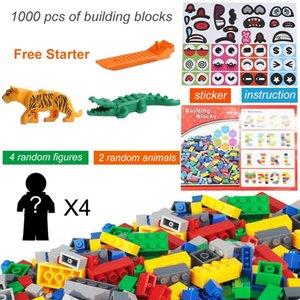 1000 PCS Color mixto educativo DIY Bulk Block Australiano Bloque de construcción Ladrillo Kinder Recomendación Juguete con instrucción de inicio