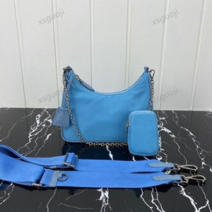Fashion nylon ladies luxury designer Sneakers handbag Series messenger shoulder bag purse