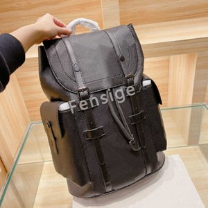 M55699 Designers Backpack PM Large Capacity Oxidized Leather Travel Handbags Luxurys Christopher Mens Trend Totes Abael Bags M43735