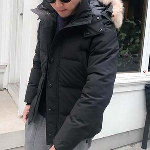 Moda Kış Aşağı Parka Camo Kapşonlu Wyn Erkekler Tasarımcı Ceket Klasik Açık Sıcak S424 Giyim Ceket En Kaliteli