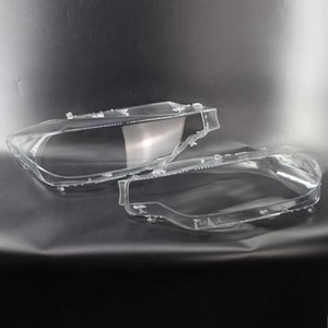 Pair Left 1 + Right Car Headlight Transparent Lampshade Lens Shell Cover Accessories For BMW 3 Series F30 F31 F35 2013 2014 2015