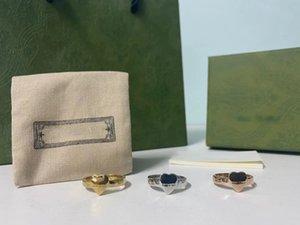 Дизайнерское кольцо мода сердца кольца для женщин оригинальный дизайн отличное качество влюбленное кольцо с коробкой 1 шт. NRJ