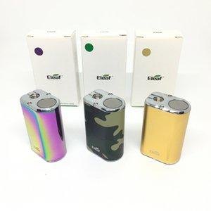Eleaf Mini Istick Kit 1050mAh 내장 배터리 10W 최대 출력 변수 전압 모드 3 색 골드 위장 무지개 510 세라믹 오일 카트리지