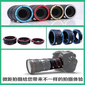 Lens Adapters & Mounts Metal AF Auto Focus Macro Extension Tube Ring Adapter For EF EF-S 1dx 5d2 5d3 6d 7d 60D 80d 650D 760d 1200d Cam