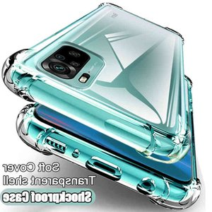 Luxury soft shockproof clear phone case For Note 10 9 8 7 6 Pro 8T 9S 10S 10 9 Max 9A 8A 7A K20 K30 back cover