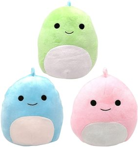 Cute soft fat plush colored dinosaur doll children holiday gifts