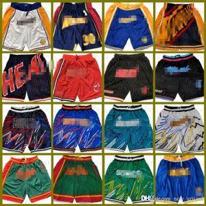 Nur Basketball-Shorts Don Goldener ZustandKriegerNba seattle.SupersonsMiamiHitzeIndianaPassierer
