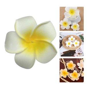 100pcs Frangipani Hawaii Flower Head Foam Decor For Wedding Craft Style Flowers Ennes Decorative & Wreaths