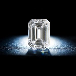 Szjinao Real 100% Loose Gemstone Moissanite Diamond 3ct 7*9MM D Color VVS1 Undefined Emerald Cut Lab Diamond With Certificate
