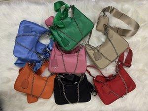 2020 Umhängetaschen Hohe Qualität Nylon Handtaschen Bestseller Brieftasche Frauen Taschen Kreuz Body Bag Hobo Umhängetasche Geldbörsen Messenger Bag mit Kasten
