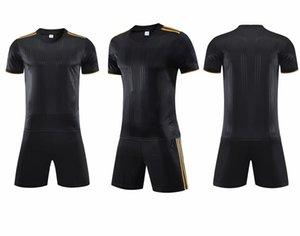 SUNJIE20300SOCISCER Jerseys Negro Camiseta para adultos Servicio personalizado Servicios personalizados personalizados Personalizados Escuela Equipo de la escuela Cualquier club de fútbol camisas