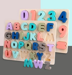 Montessori children's wooden toys, alphanumeric alphabet, games, mathematics, puzzles, children's learning and education toys, gifts