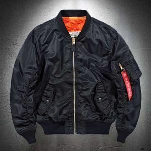 Bomber Jacket Men Black Lightweight Casual Jacket Pilot Men Autumn Coat Tactical Coat Mens Plus Size 4XL 5XL 6XL