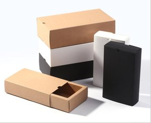 wedding party favors present box white small kraft box for soap jewelry DIY drawer paper boxes for packaging ju0654