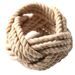 Napkin Rings AC86 -10Pcs Cotton Jute Set,Natural Woven Rope Serviette Buckles,Braided Burlap For Wedding Table