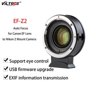 Lens Adapters & Mounts Viltrox EF-Z2 Adapter Ring Focal Reducer Auto Focus For EF To Z Mount Camera Z6 7 Z50