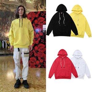 Мужская одежда Homme толстовки с капюшоном мужские женские дизайнерские толстовки High Street Print Hoodies Pullover зимний толстый свитер 2020