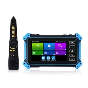 Kits Est CCTV Tester IPC-5200 Plus Full 8MP IP CVI TVI AHD SDI Analog 6 IN 1 VGA & 4K Input Camera