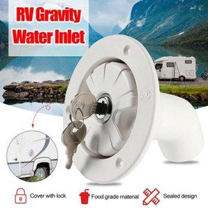 Um Caravan Hatch Gravity Inlet RV Acessórios RV Filtro de Filtro de Água Filtro Branco Peças de ATV