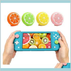Симпатичные Thumb Stick Highap Cap Joystick Cover для Nintend Switch Lite NS Joy-Con Controller GamePad ChanceStick Case XPAQY 9PMZG