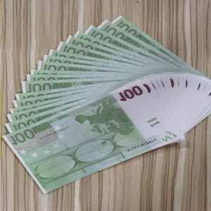 For Euros Paper Realistic Money Copy Fake Movie Play Bank Note Business Nightclub 12 Prop 100 Collection Most Nvrkw