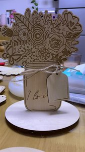 Mothers Day Gifts Handmade Engraved Wooden Display Stands, Mother's Stands For Mom Greeting Cards