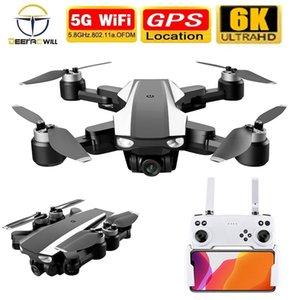 2021 NEW S105 Drone 4k 6k Gps Professional HD Dual Camera 5G Wifi Brushless Motor 1.5Km 7.4V RC Quadcopter Fpv Dron Toys