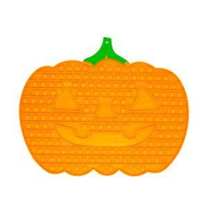 33*40cm Pumpkin Shape Big Size Fidget Toys Halloween Game Pioneer Keychain Push Desktop Puzzle Sensory Anti Stress Bubbles Board Decompressi