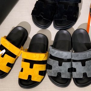shoes toe Velcro chypre old slippers leaking toe Scuffs hollow surface geometric shape letter outsole metal buckle set foot
