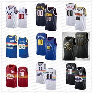 Aaron 50 Gordon Basketball Jerseys Custom Nikola 15 Jokic Jokic DenverMichael Porter Jr. Jamal 27 Murray 4 Millsap CityNuggets Monte 11 Morris 5 Barton