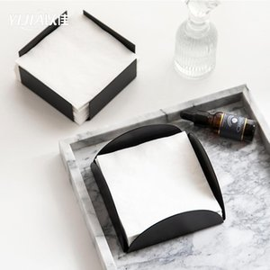Tissue Boxes & Napkins Home Living Room Creative Box Simple Square Holder Restaurant El Napkin