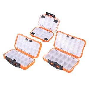 봉인 된 방수 낚시 태클 트레이 ABS 플라스틱 회전 스냅 미끼 저장 상자 액세서리