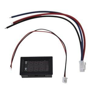 Voltage Meters DC 100V 10A Voltmeter Ammeter Blue + Red LED Amp Dual Digital Volt Meter Gauge