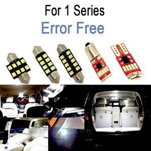 Perfect White Canbus Error Free LED Interior Dome Map Light Bulb Kit For 1 Series E81 E87 E82 E88 F20 F21 (2003-2014) Car Headlights