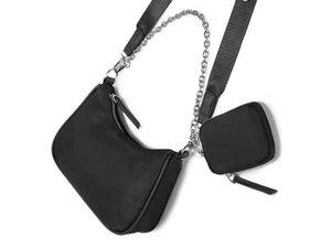 3 шт. Сумки на плечо Высококачественные нейлоновые сумки бестселлеров кошелек женская сумка Crossbody Pocket Hobo кошельки