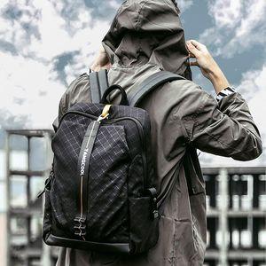 Backpack Men's Casual Waterproof Travel Bag Women 15.6 Laptop Backpacks College School Bags For Teenagers Boys Male
